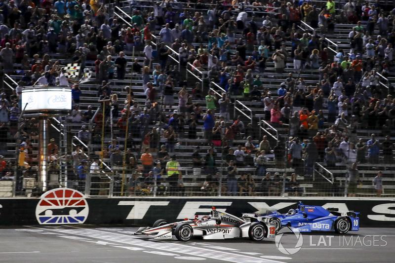 Sieg für Will Power, Team Penske Chevrolet