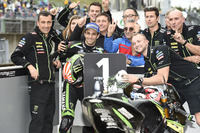 Pole sitter Johann Zarco, Monster Yamaha Tech 3