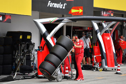 Meccanico Ferrari e pneumatici Pirelli