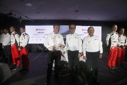 Tommi Mäkkinen; Akio Toyoda; Toyota Racing, Toyota Yaris WRC 2017
