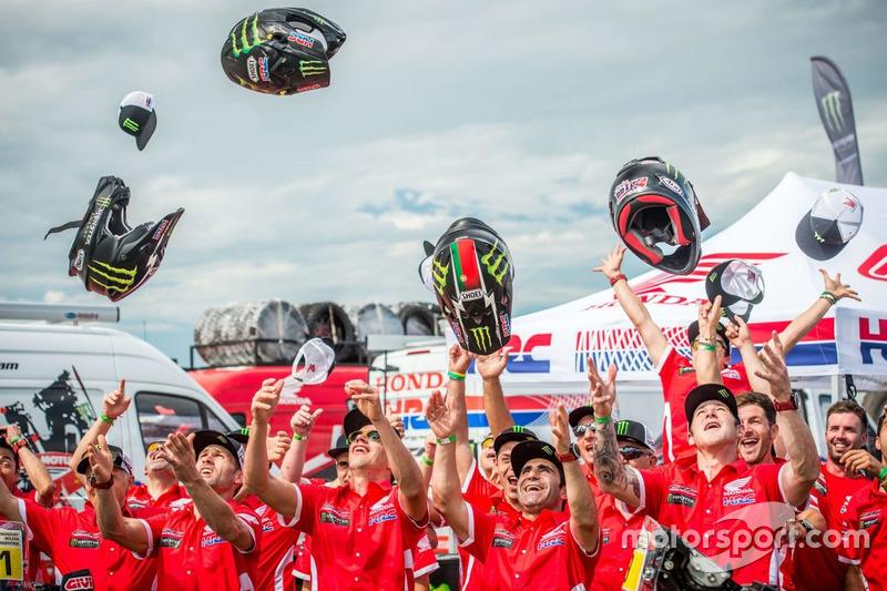 Alle Fahrer vom Monster Energy Honda Team