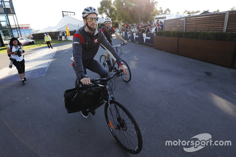 Romain Grosjean, Haas F1 Team en Albert Park