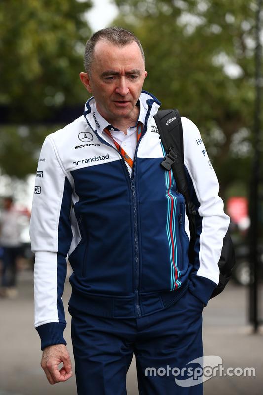 Paddy Lowe, director técnico de Williams