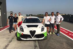 Presentazione Alfa Romeo Giulietta TCR del V-Action Racing Team e Romeo Ferraris