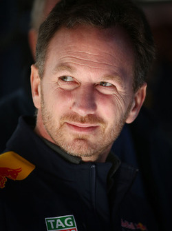 Teamchef Christian Horner, Red Bull Racing