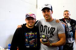 Anthony Kumpen, PK-Carsport mit einem Fan
