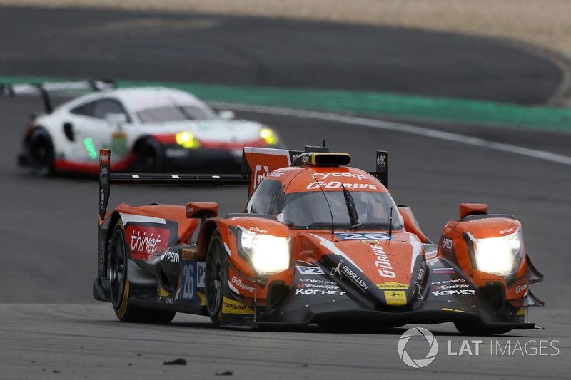 #26 G-Drive Racing Oreca 07 Gibson: Roman Rusinov, Pierre Thiriet, Ben Hanley