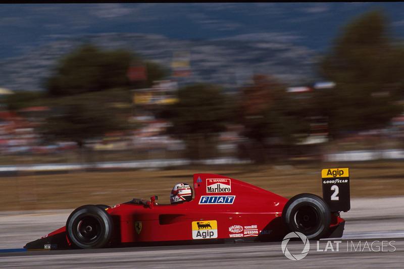 8. Найджел Мэнселл, Ferrari 641, Гран При Франции-1990 (Ле-Кастелле): 1:04,402