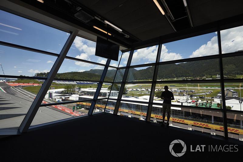 Blick auf das Mediazentrum