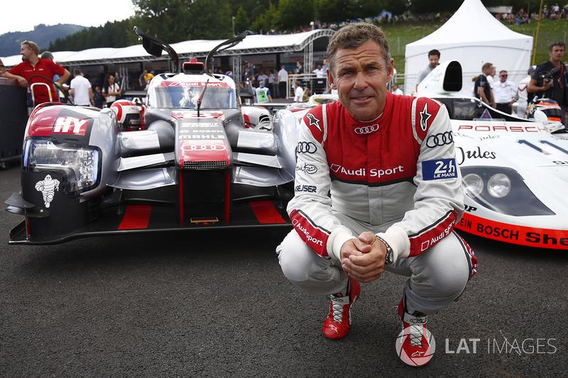 Том Крістенсен, 2016 Audi R8 LMP1 і Porsche 936