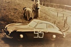 Alfred Lienhard, Porsche 356 Pre-A, Course de côte Kandersteg-Mitholz