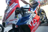 Danilo Petrucci, Pramac Racing bike detail with fairing