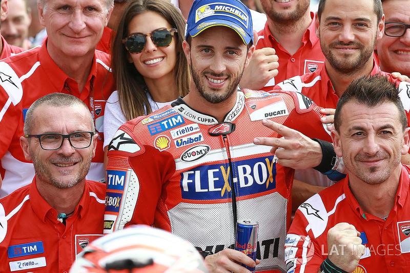 Друге місце у кваліфікації Андреа Довіціозо, Ducati Team
