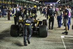 El auto de Jolyon Palmer, Renault Sport F1 Team RS17