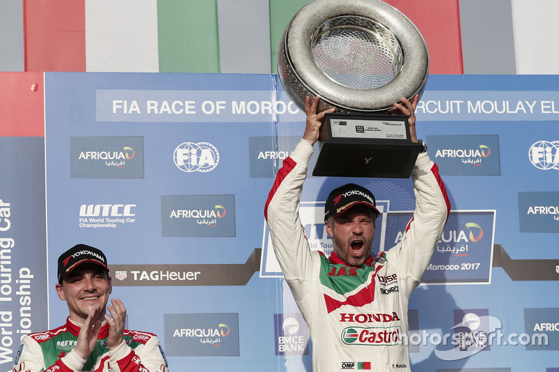 1. Tiago Monteiro, Honda Racing Team JAS, Honda Civic WTCC