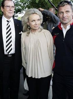 Roger Moore, Kristina Tholstrup, Tom Kristensen