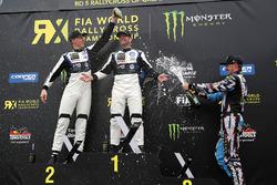 Podium: 1. Petter Solberg, PSRX Volkswagen Sweden, VW Polo GTi; 2. Johan Kristoffersson, Volkswagen Team Sweden, VW Polo GTi; 3. Andreas Bakkerud, Hoonigan Racing Division, Ford
