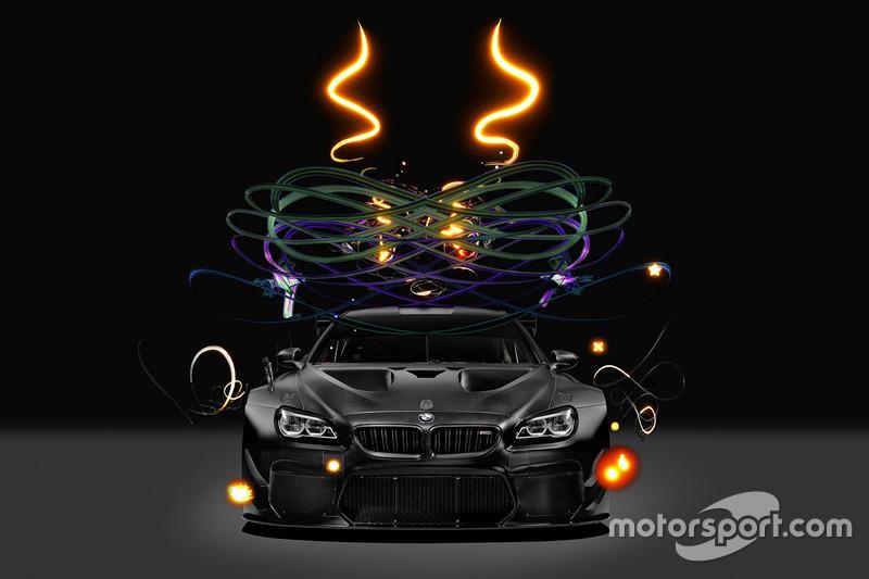 BMW M6 GT3 Art Car von Cao Fei