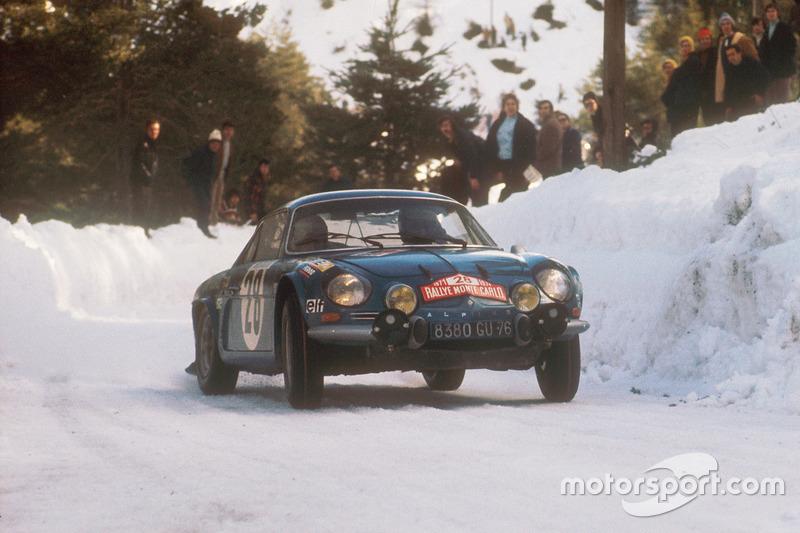 Ove Andersson, David Stone, Renault Alpine A110