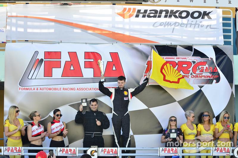 Bryan Horowitz de Scuderia Shell Burbank