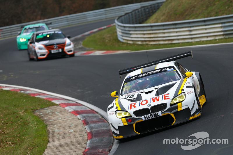 Markus Palttala, Nick Catsburg, Richard Westbrook, ROWE Racing, BMW M6 GT3