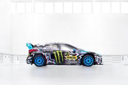 Das Auto von Andreas Bakkerud, Hoonigan Racing Division, Ford Focus
