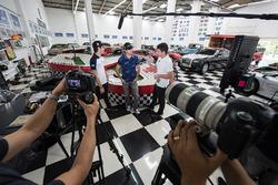 Pedro Piquet und Nelson Piquet Jr.