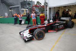 2 koltuklu F1 aracı