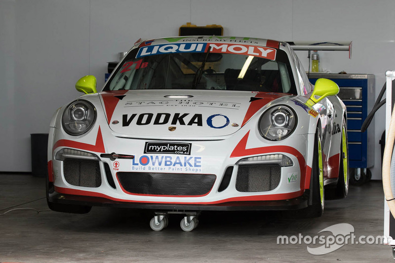 #21 Steven Richards Motorsport Porsche 991 GT3 Cup
