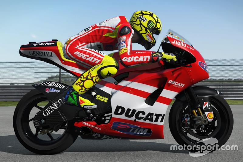 Valentino Rossi, Ducati Desmosedici 2011