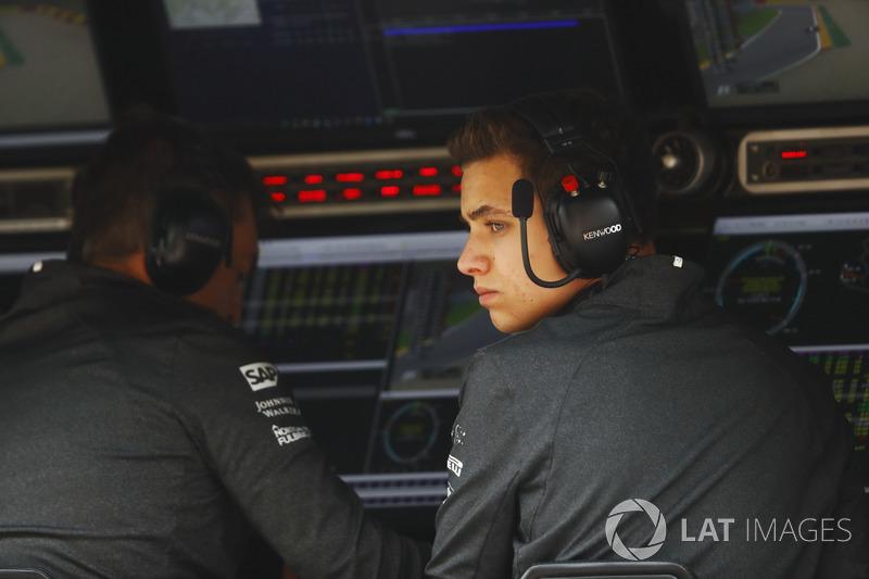 Lando Norris, Test and Development driver, McLaren F1