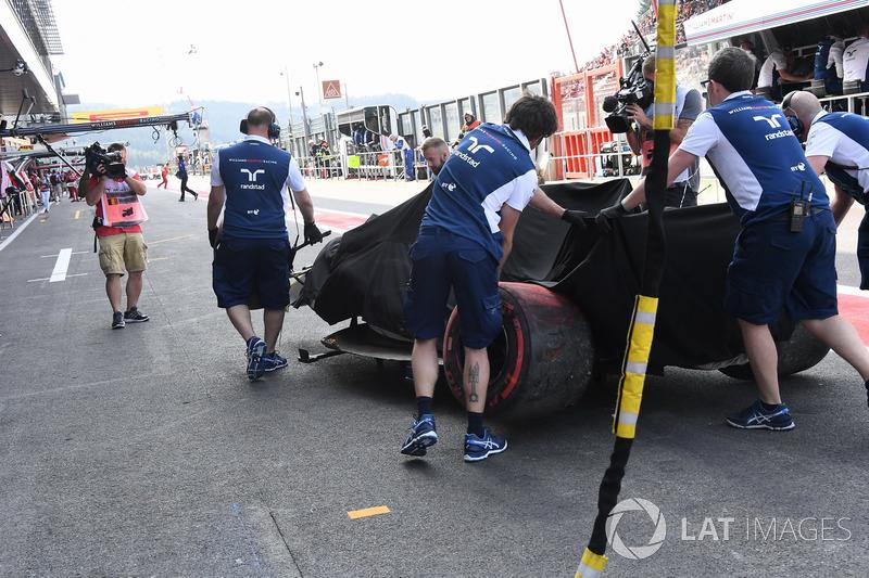 Williams FW40 Феліпе Масси