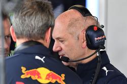 Технический директор Red Bull Racing Эдриан Ньюи
