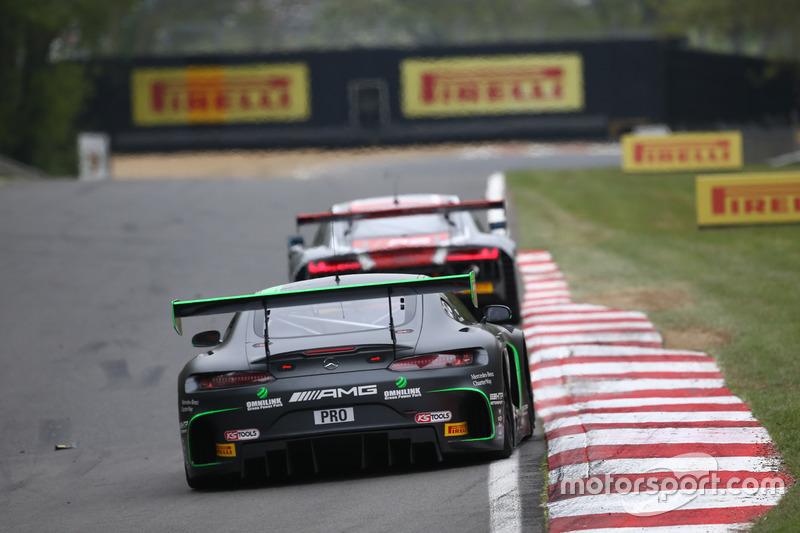 #86 Mercedes-AMG Team HTP Motorsport Mercedes AMG GT3: Jimmy Eriksson, Dominik Baumann