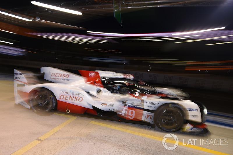 15. #9 Toyota Gazoo Racing Toyota TS050 Hybrid: Jose Maria Lopez, Yuji Kunimoto, Nicolas Lapierre