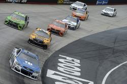 Dale Earnhardt Jr., Hendrick Motorsports Chevrolet, Matt Kenseth, Joe Gibbs Racing Toyota, Gray Gaulding, BK Racing Toyota