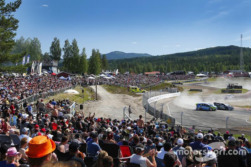 Acción del Rallycross