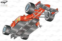 Ferrari F2001 (652) 2001 underside view
