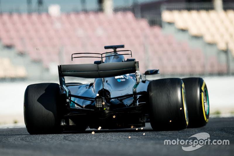 Viernes:  Valtteri Bottas, Mercedes AMG F1 W08