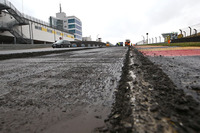 Sachsenring repaving work