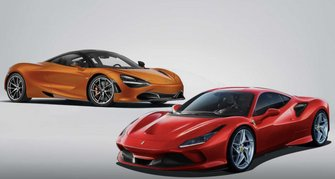 Ferrari F8 Tributo vs. McLaren 720S