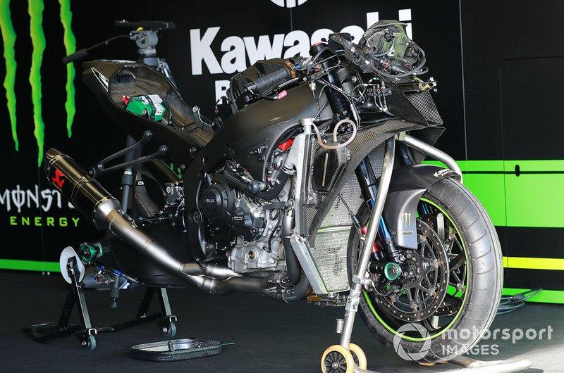 La moto di Jonathan Rea, Kawasaki Racing