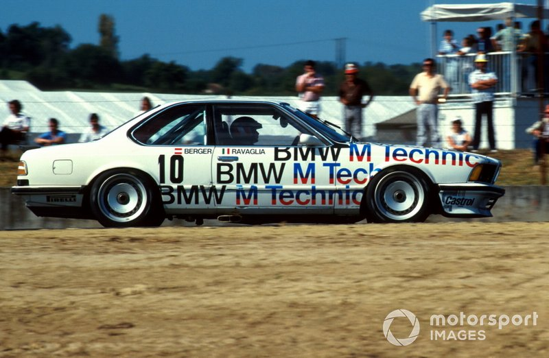 1986 ETCC: Roberto Ravaglia, Gerhard Berger