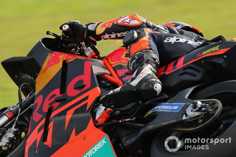 Johann Zarco, Red Bull KTM Factory Racing detalle