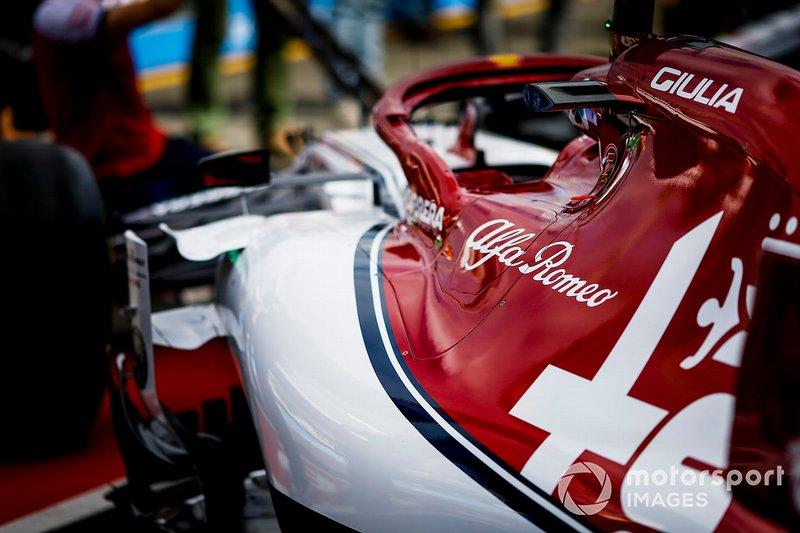 L'Alfa Romeo C38 dans son stand