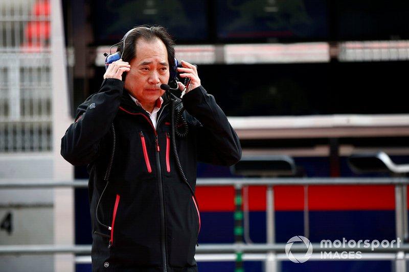 Тойохару Танабе, технічний директор Honda F1