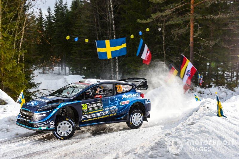 Елфін Еванс, Скотт Мартін, M-Sport Ford, Ford Fiesta WRC 2019