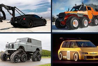 Los 10 coches más exagerados