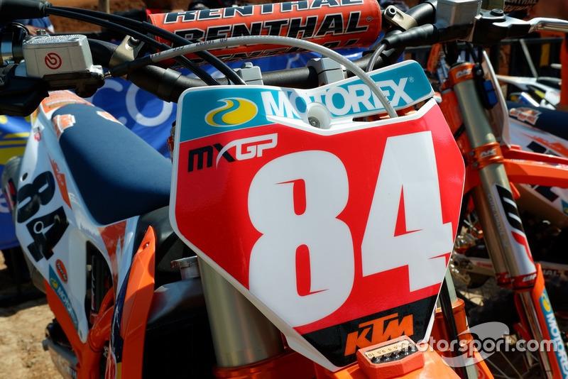 Jeffrey Herlings, KTM Factory Racing red plate