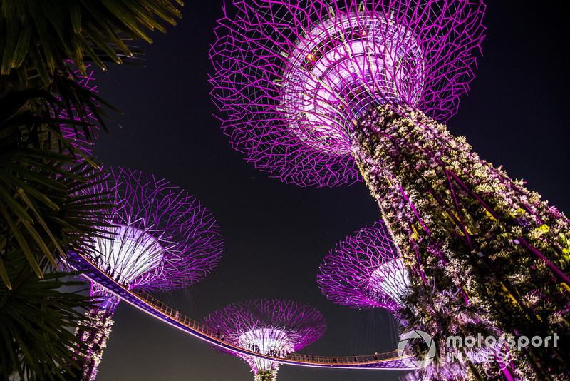 Гран Прі Сінгапуру: світлове мистецтво